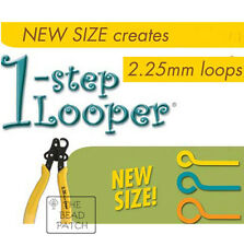 BEADSMITH 1 STEP LOOPER -ONE STEP LOOPER- 2.25 MM Loop - Create & trim eye pins