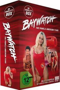 Baywatch Season 3+4+5+6+7 TV Series Pamela Anderson, David Hasselhoff NEW R2 DVD