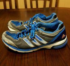 Men adidas adizero Boston 3 Blue, Silver and Gray Size 11