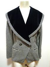 LUCIANA LAZZARI Giacca Donna Lana Piedipull Wool Woman Jacket Sz.L - 46