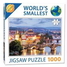 Cheatwell Games 13992 Prague Bridges World's Smallest Jigsaw Puzzle