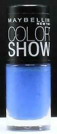 Maybelline Color Show Nail Lacquer  # 985 Pacific Blues   Free S&H