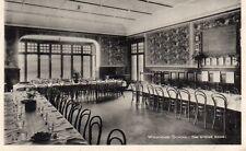 WYCHWOOD SCHOOL The Dining Room Oxford 1927 Original Postcard (SC87)