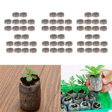 60pcs Peat Pellets Seed Starter Seedling 31mm Condense Soil Block Nursery