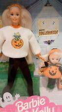 BARBIE & KELLY HAPPY HALLOWEEN VINTAGE 1996 MATTEL 1996 MIB NRFB. Set 4UNOW2DAY