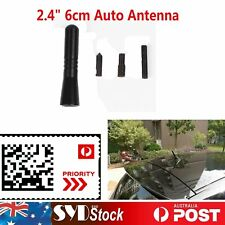 Black Short Car Antenna Aerial Stubby Bee for Subaru BRZ XV Forester WRX STI