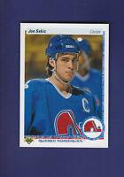 Joe Sakic HOF 1990-91 Upper Deck UD Hockey #164 (MINT) Quebec Nordiques