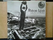 Disque vinyle lp POISON IDEA. Latest will and testament