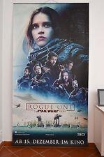Star Wars Rogue One Original Kino Plakat Vinyl Banner / Poster - RARE - HUGE