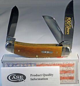 Case XX Bose 10 Dot Antique Smooth Bone Sowbelly Pocket Knife