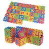 60Pcs EVA Foam Russian Alphabet Letters Numbers Floor Baby Mat Learn toRSDEZJP