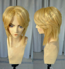 The Legend of Zelda Link Brave Cosplay Hair Wigs Anime Games+Gift Hairnet #q