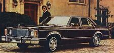 CLASSIC VINTAGE RETRO 1976 MERCURY MONARCH AMERICAN CAR SALES ADVERT