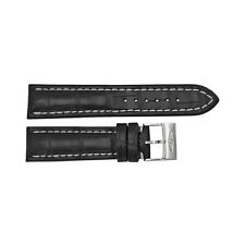 Breitling Black Leather Strap  22-20mm Tang Buckle BT435X-A21BA