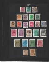 hungary 1939-43 used  stamps page ref 17639