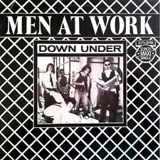 """Men At Work Down Under , Helpless Automaton Dutch 12"""" read condition"""