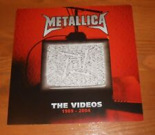 Metallica The Videos 1989-2004 Poster 2-Sided Flat Square 2006Promo 12x12