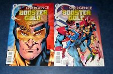 Booster Gold Convergence #1 2 1st print set Dc Comic 2015 Dan Jurgens complete