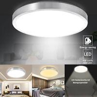 18W 24W LED Deckenleuchte mit Bewegungsmelder Badleuchte Deckenlampe Wohnzimmer