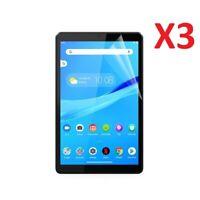 "3 X For Lenovo Tab M8 Screen Protector Guard Ultra Clear TPU  (8.0"")"