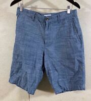 Goodfellow Lot of 2 Linden Shorts Ligth Gray Chino Chambray Men's Size 30