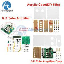 AC12V 6J1 valvola di pre-amp tube pre amplificatore per cuffia da Tavolo + Custodia Acrilico FAI DA TE KIT
