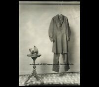 Abraham Lincoln Death Clothes PHOTO Hat & Coat Assassination Civil War President