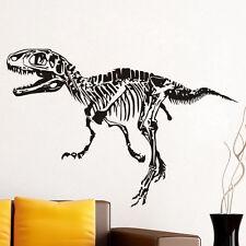 Funny Vinyl Wall Decal T-Rex Fossil Wall  Sticker Dinosaur Boys Rooms Art Mural