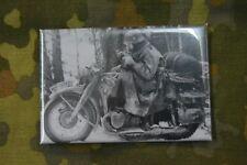 Aimant Magnet Frigo Panneau Magnétique ww2 Seconde Guerre Mondiale moto