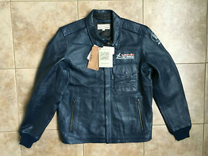 AVIREX Red Bull Air Race A-2 Leather Jacket Sz.L