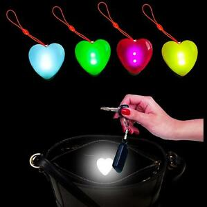 VALENTINES DAY LADIES GIFT PRESENT HANDBAG LIGHT 'HEART' SHAPED IN 4 COLOURS