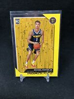 MICHAEL PORTER JR. 2018-19 NBA Hoops RC ROOKIE HOT 254 YELLOW NUGGETS INVEST K29