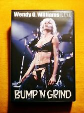 WENDY O. WILLIAMS (Plasmatics-Punk Metal) - BUMP' N' GRIND - LIVE 1985 DVD