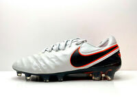 Nike Tiempo Legend VI FG Football Boots Grey UK 7.5 EU 42 US 8.5 819177 001