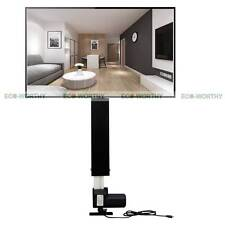32'' 800mm TV Lift Cabinet Mount Bracket Stroke w/ Remote Controller For Bedroom
