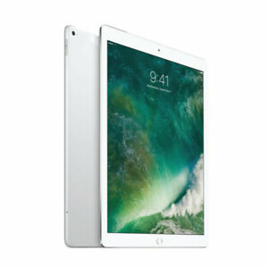 "Apple iPad Pro 12.9"" 1st Gen WIFI + Cell 128GB Silver 