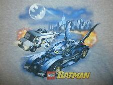 LEGO BATMAN T SHIRT Batmobile Armored Car Gotham City Dark Knight YOUTH XL