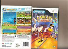 PLAYMOBILE CIRCUS NINTENDO WII KIDS/FAMILY GAME BALANCE BOARD COMPATIBLE