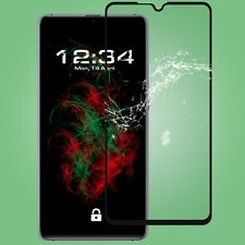1x Glass Foil Fullscreen Clear for Huawei Mate 20 x in Black Safety 9H