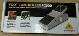 Behringer FC600 Heavy Duty Volume / Expression Pedal - Opened Never Used