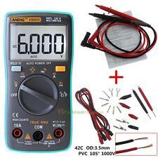 ANENG AN8002 Digital Multimeter 6000Counts AC/DC Ammeter Temperature Tester