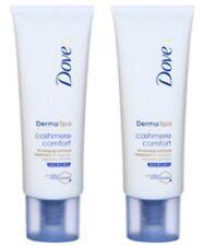 2 X Dove Derma Spa Cashmere Comfort Rich Hand Treatment 75ml DermaSpa