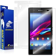ArmorSuit MilitaryShield Sony Xperia Z1S Screen Protector + Full Body Skin NEW