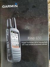 Garmin Rino 650 Handheld 2-Way Radio and Gps