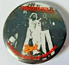 The Who Farewell Tour 10/20/1982 KISW FM 100 KingDome Rock Pin Button