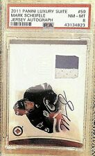 2011-12 Panini Rookie Anthology Luxury Suite #59 Mark Scheifele /99 Psa 8