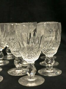 "VINTAGE IRISH WATERFORD ""COLLEEN"" SHERRY GLASSES 6 x $ 25.00"