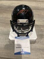 Michael Vick Signed Mini-Helmet Autographed Atlanta Falcons Speed Beckett COA