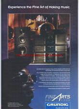 Grundig Hi-Fi Systems 1993 Magazine Advert #1499