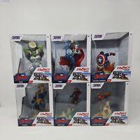 Marvel Avengers Zoteki Figures Avengers Endgame Full Set Of 6 Connect & Create